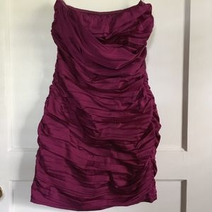 Express Mini Dress, Magenta, Size 8, NWOT
